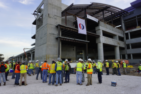 Tampa International Airport CONRAC Project Officially Tops Out
