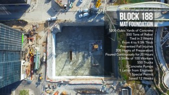 New Time-Lapse Video Shows Foundation Pour at Austin Project