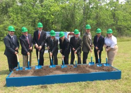 Austin Takes Part in New University of Houston Building Groundbreaking