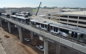 Tampa International Airport Receives New Cars for Automated People Mover